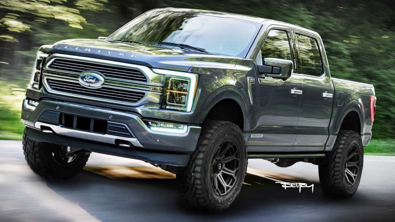2021 Ford F-150 Rendering Gives New Pickup An Attractive ...