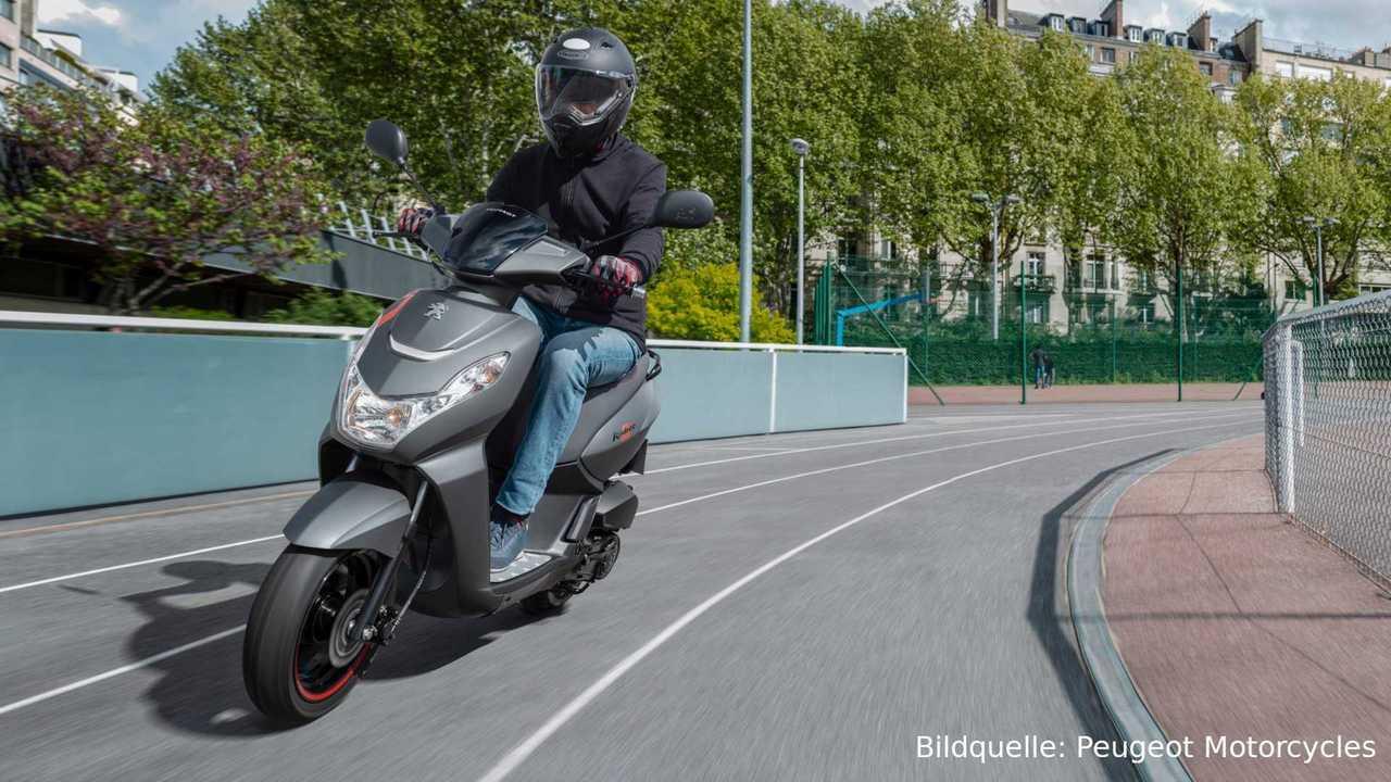 Tipps zum Motorroller-Helm (Bildquelle: Peugeot Motocycles)