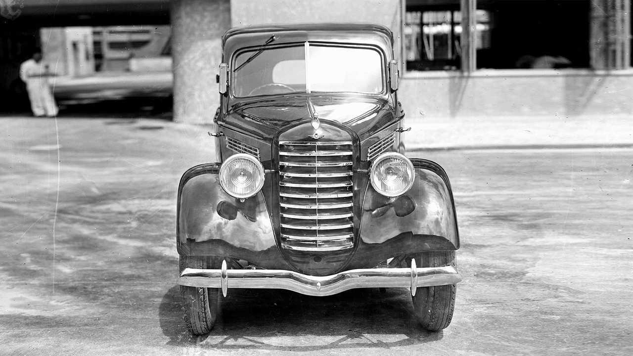 80 Jahre Mazda-Pkws: Der erste Prototyp von 1940