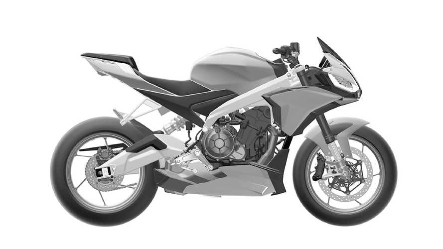 Are These The Production Aprilia Tuono 660 Design Patents?
