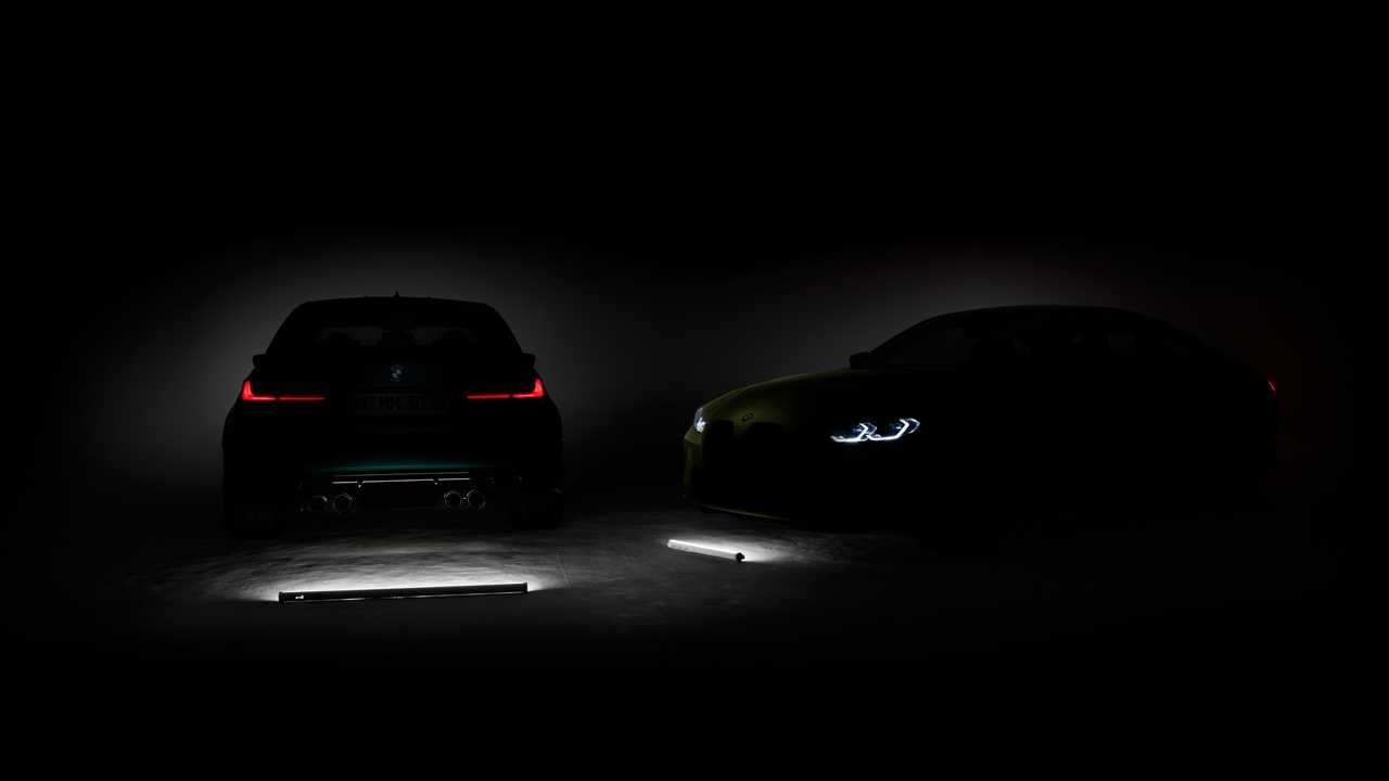 2021 BMW M3 ve BMW M4 Teaser