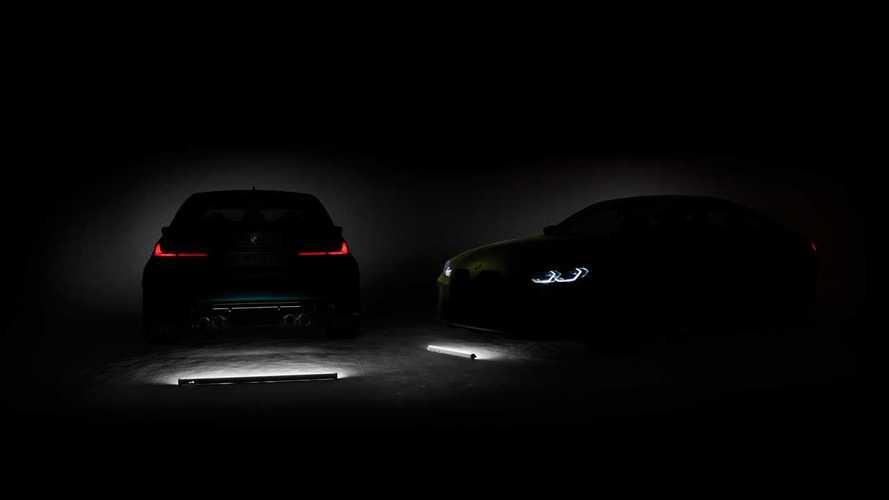 2021 BMW M3 ve M4 çiftinin yeni teaser'ı geldi