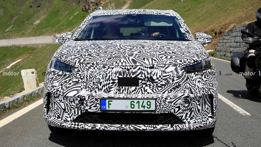 2021 Skoda Enyaq iV new spy photos