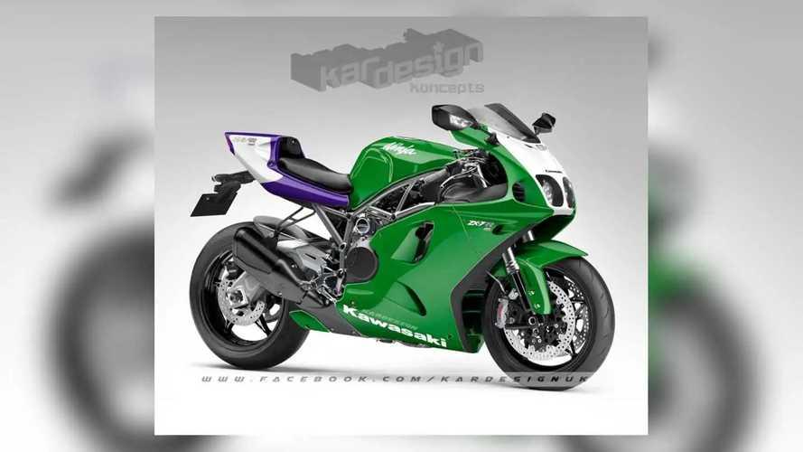 Kardesign Koncepts Kawasaki H2 ZX-7R Concept