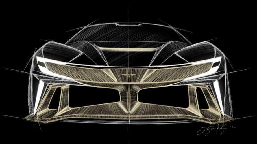 Ez itt az Aston Martin Valkyrie babérjaira törő Naran