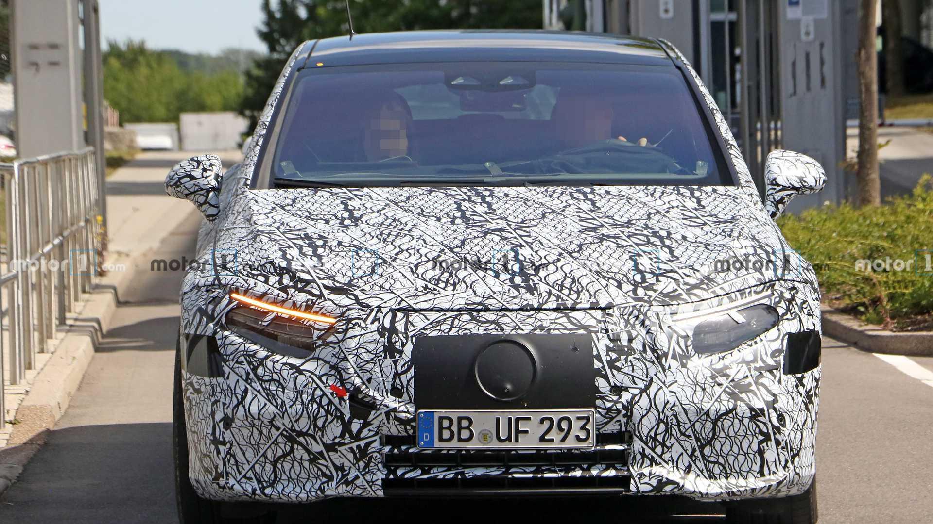 2020 - [Mercedes-Benz] EQ S - Page 4 Mercedes-benz-eqs-spy-shots-nose