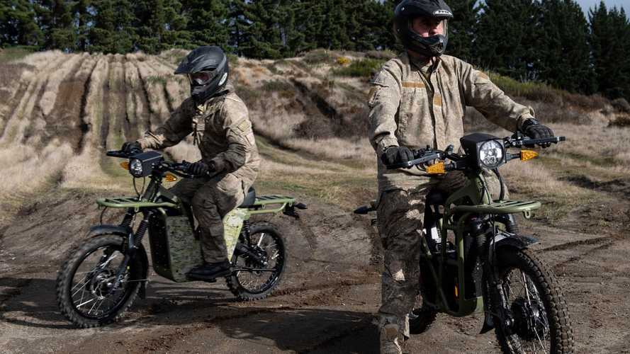 New Zealand's Military Tests UBCO 2X2 Electric Motorcycle