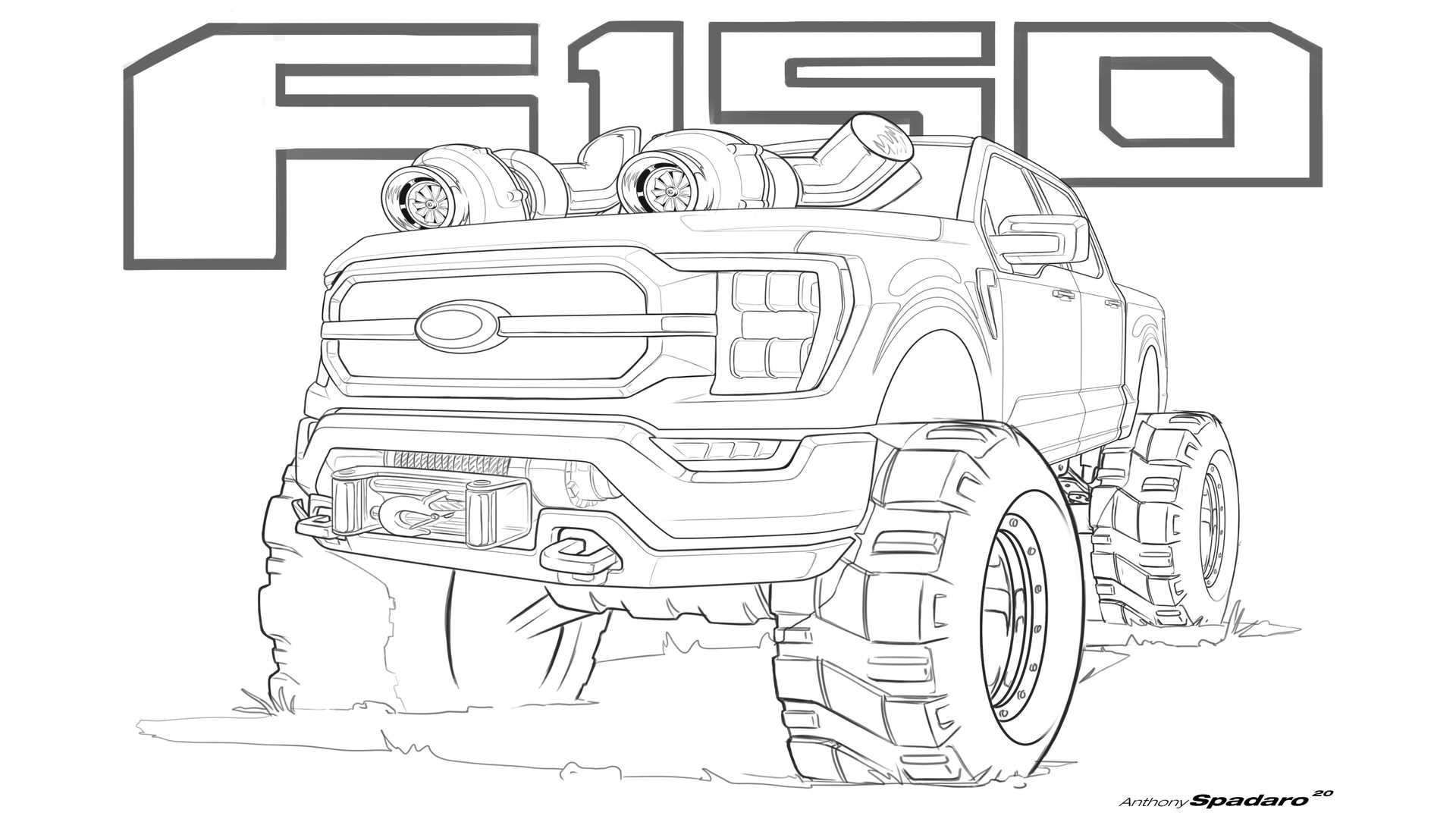 Ford Bronco And F 150 Activity Pages 5095758