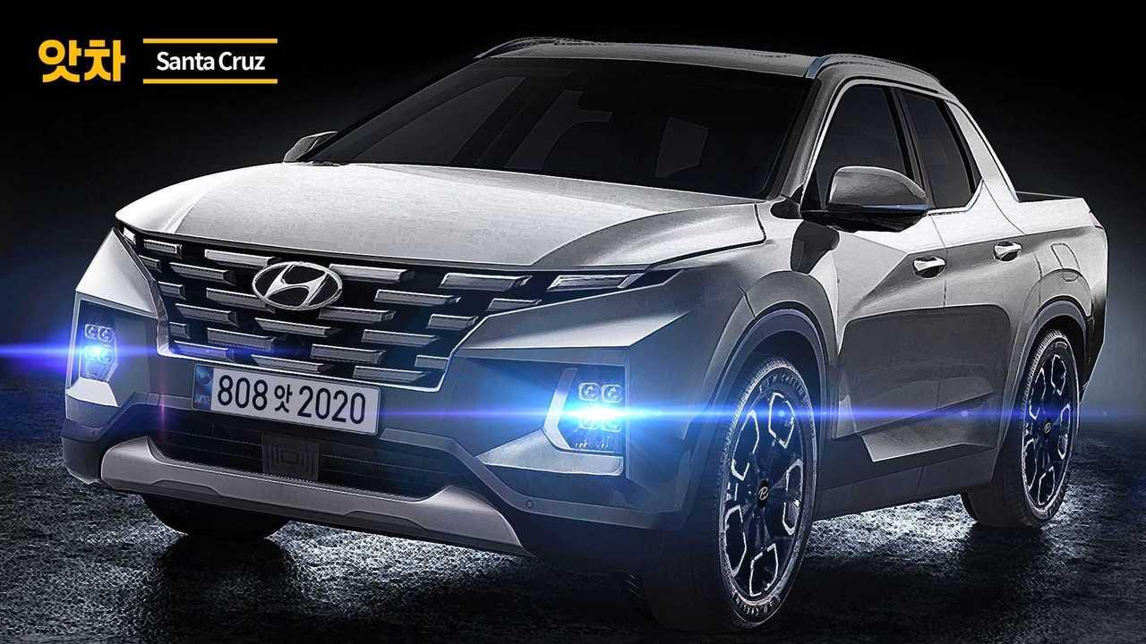 2020 Hyundai Santa Cruz Render'ları