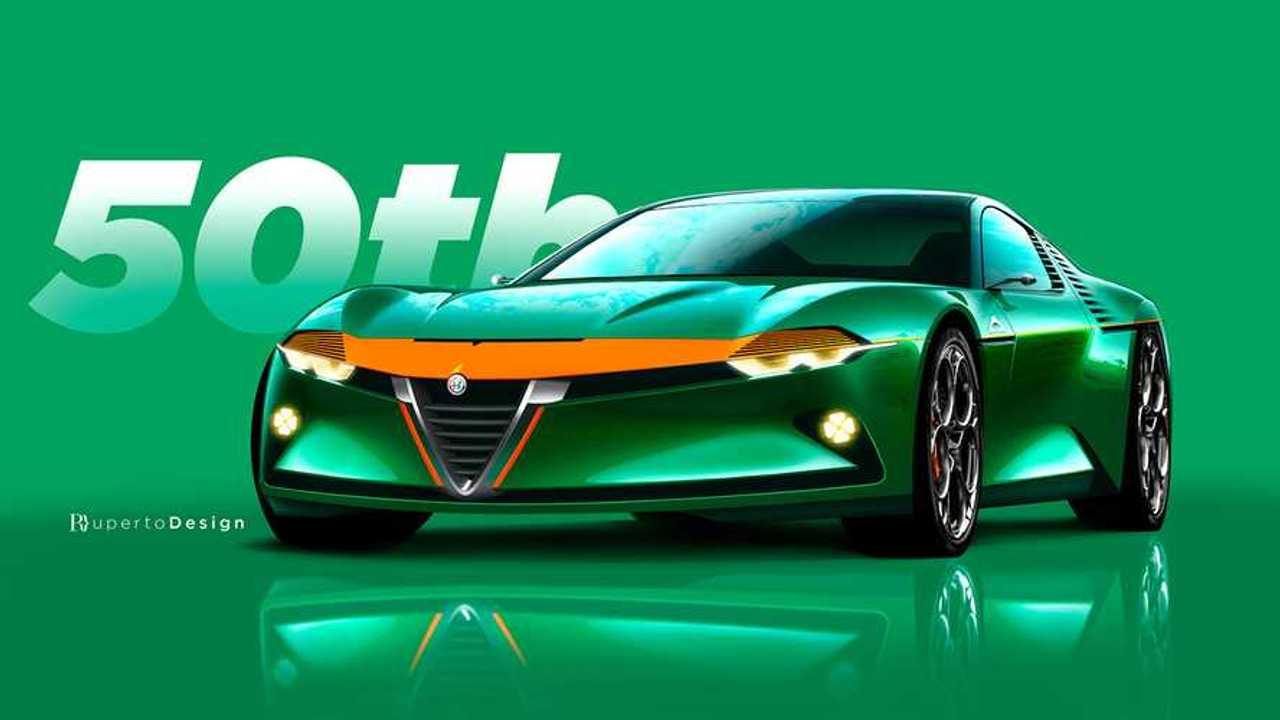 Alfa Romeo Montreal Rendering By Pedro Ruperto Mallosto