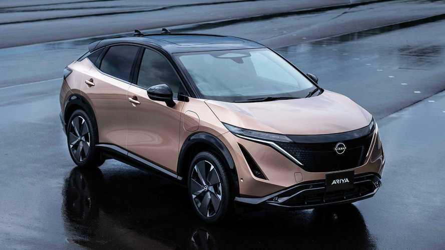 Электрокроссовер Nissan Ariya стал серийным