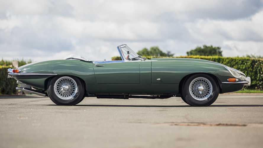 Steve Coogan's Jaguar E-Type