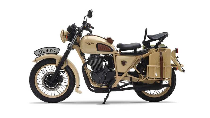 The Mash Désert Force 400 Is The Perfect Vintage Military Desert Raider
