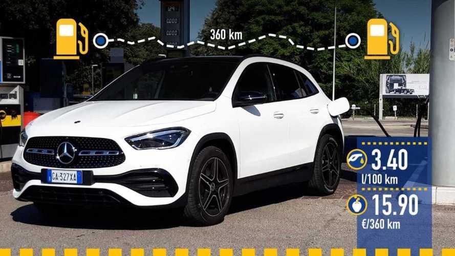Mercedes-Benz GLA 200d 4Matic, le test de consommation réelle