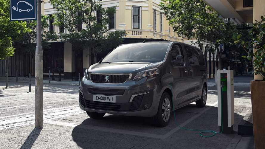 Peugeot e-Traveller nun auch mit 75-kWh-Batterie