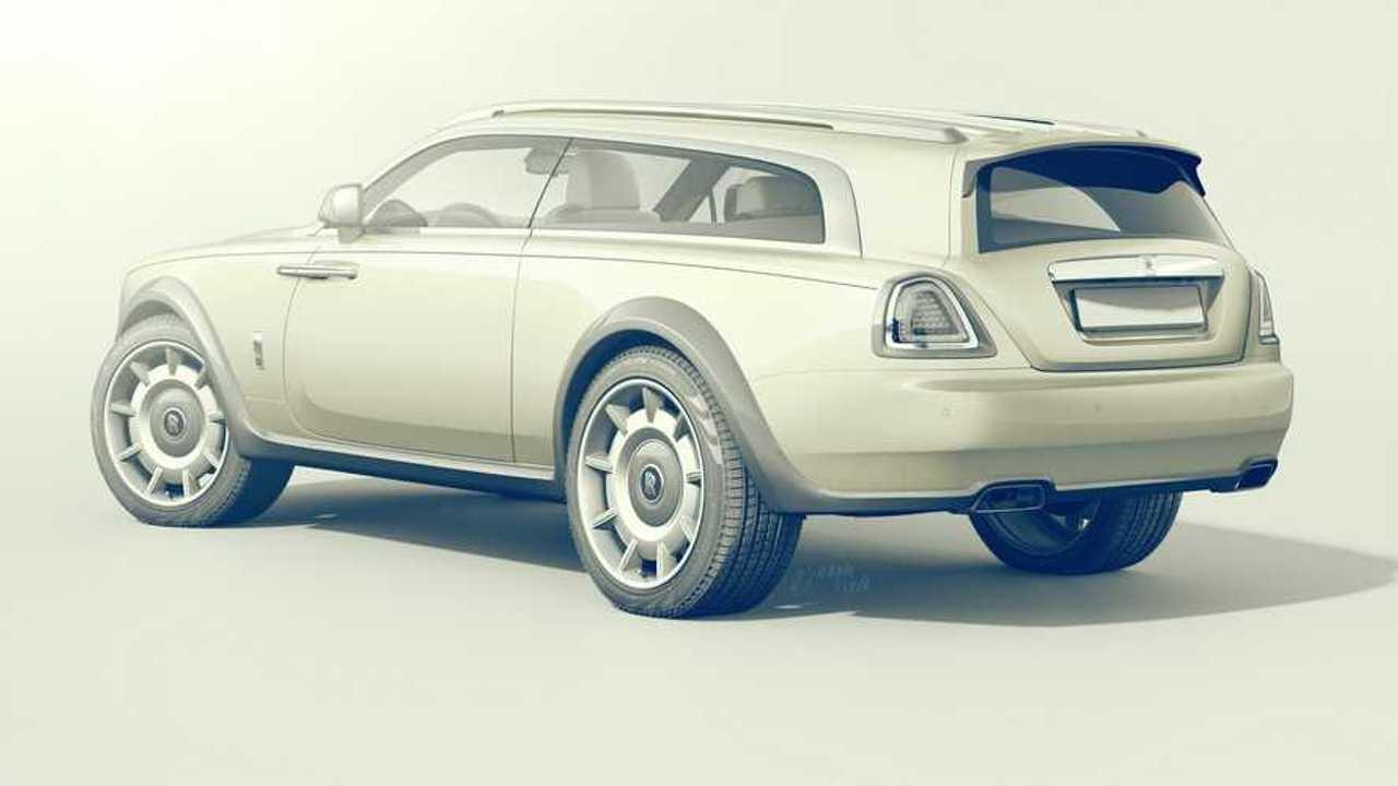 Rolls-Royce Wraith Shooting Brake Render'ları