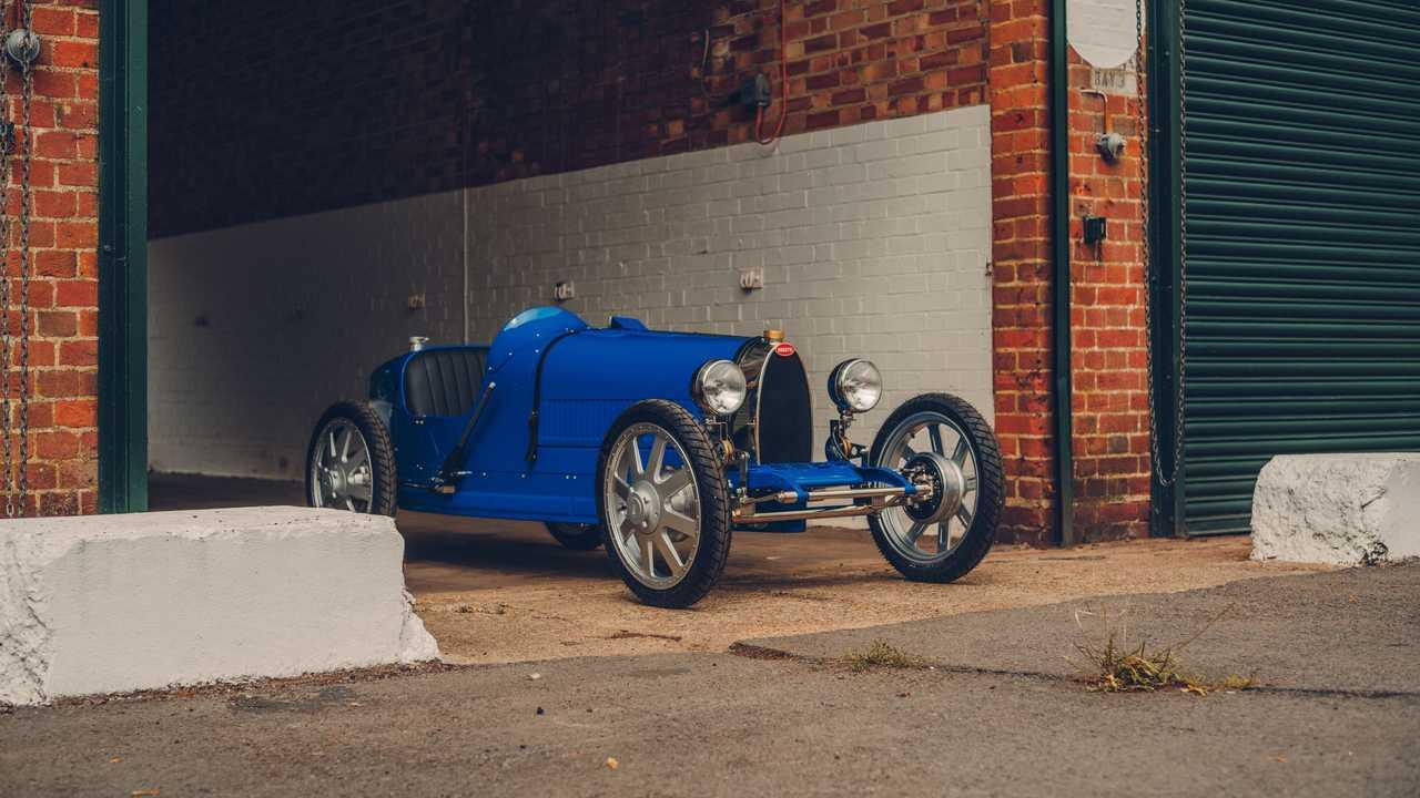 Bugatti Baba gyártási változat (első háromnegyed)