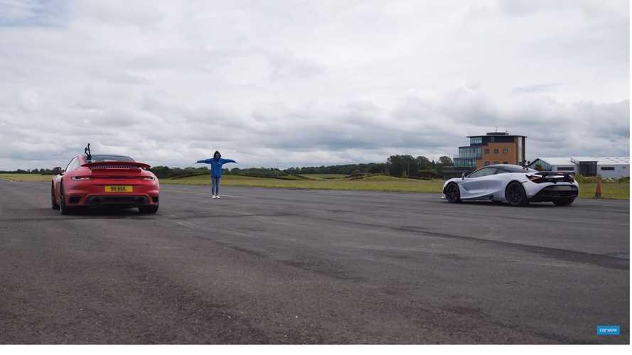 VIDÉO - La Porsche 911 Turbo S bat la McLaren 720S
