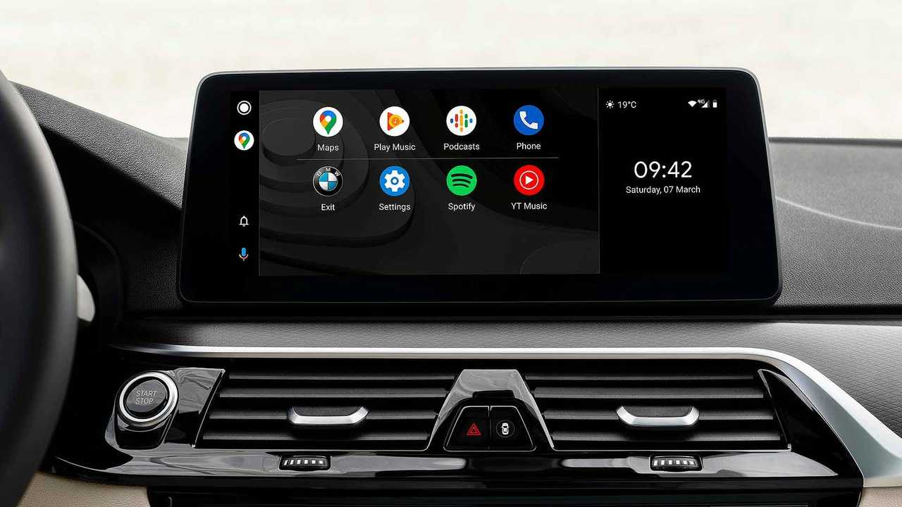 bmw serie 5 android auto
