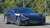 Ferrari 812 GTO (not confirmed) spy photos