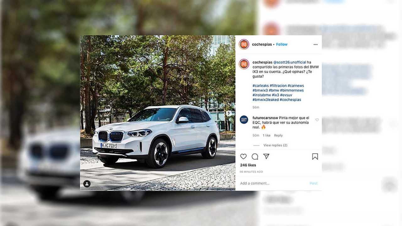 BMW iX3 Leaked Image