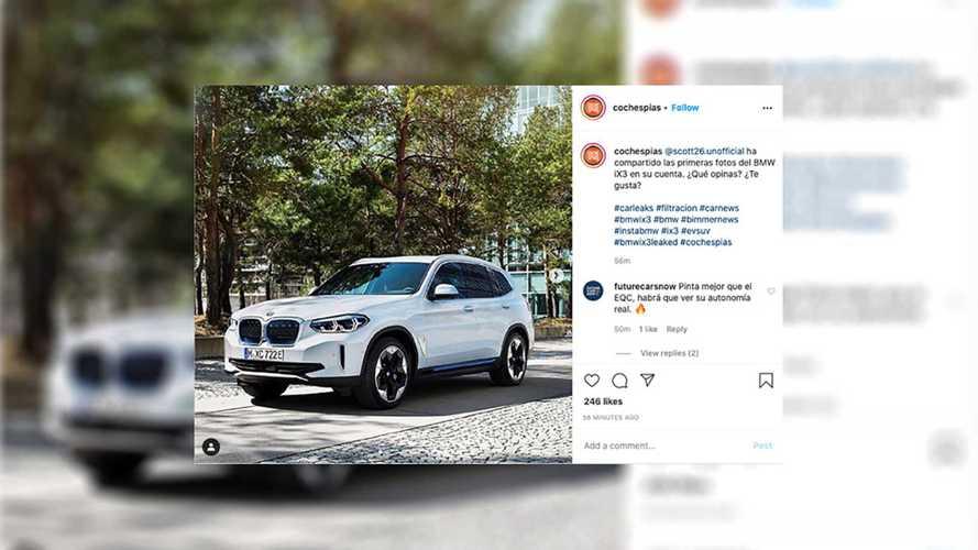 Novo BMW iX3 aparece em imagens oficiais vazadas no Instagram