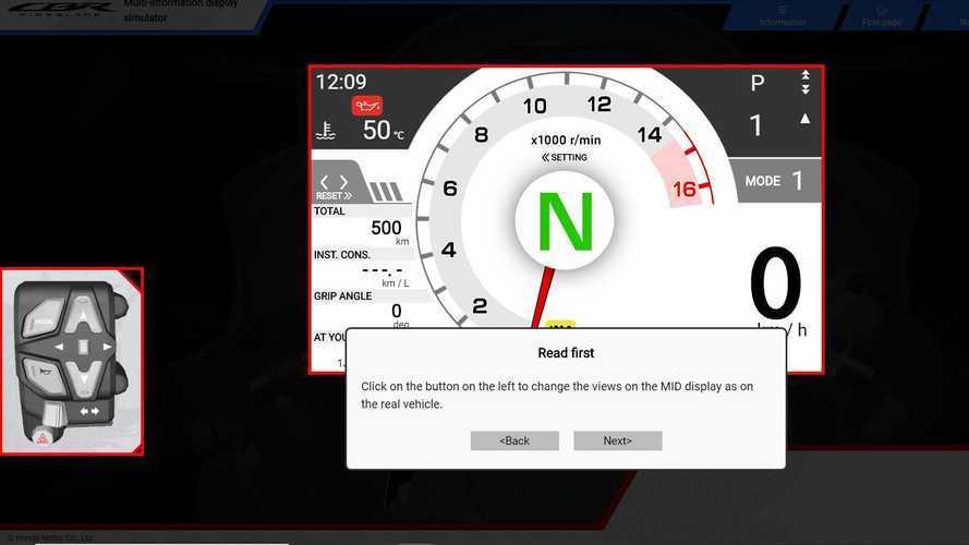 2021 Honda CBR1000RR-R Fireblade SP Simulator