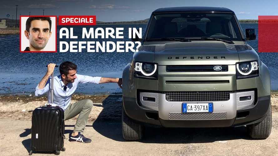 """Nuovo Land Rover Defender, la prova """"mare-monti"""" del fuoristrada 4.0"""