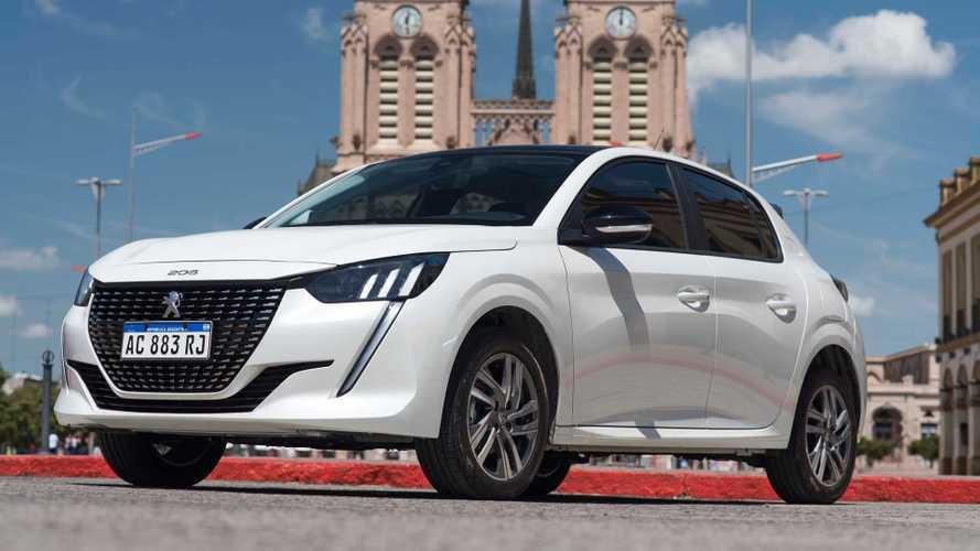 Peugeot 208 no top 5 e Cruze à frente do Corolla; veja vendas na Argentina
