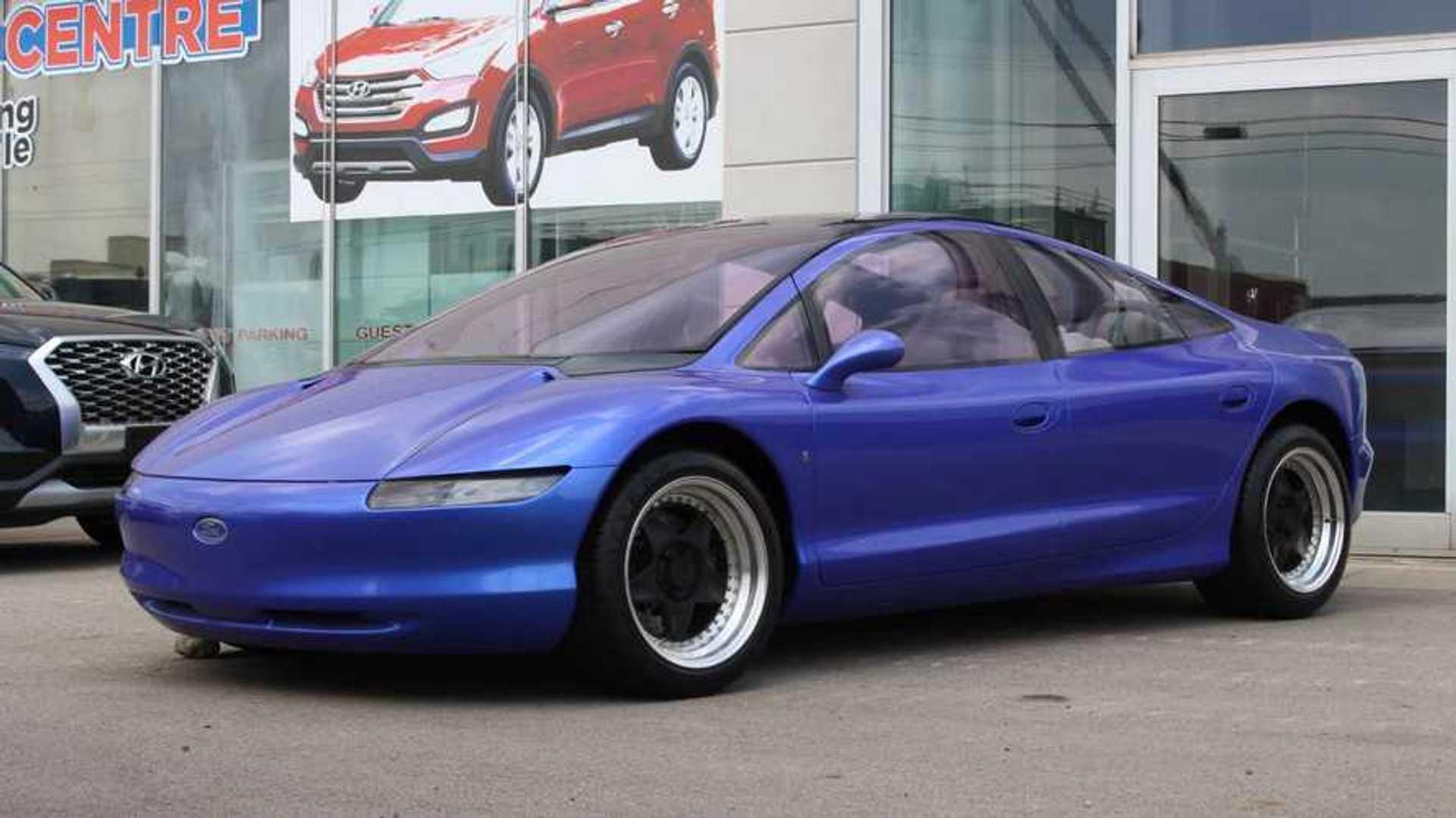 [Présentation] Le design par Ford 1989-ford-via-concept-car