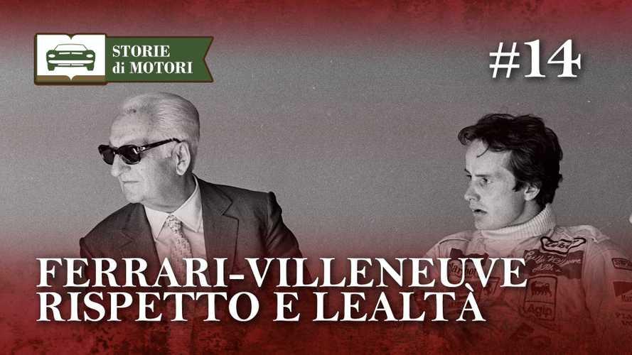 Enzo Ferrari e Gilles Villeneuve, rispetto e amicizia come con nessuno