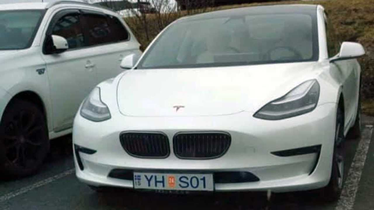Model 3 BMW Grille