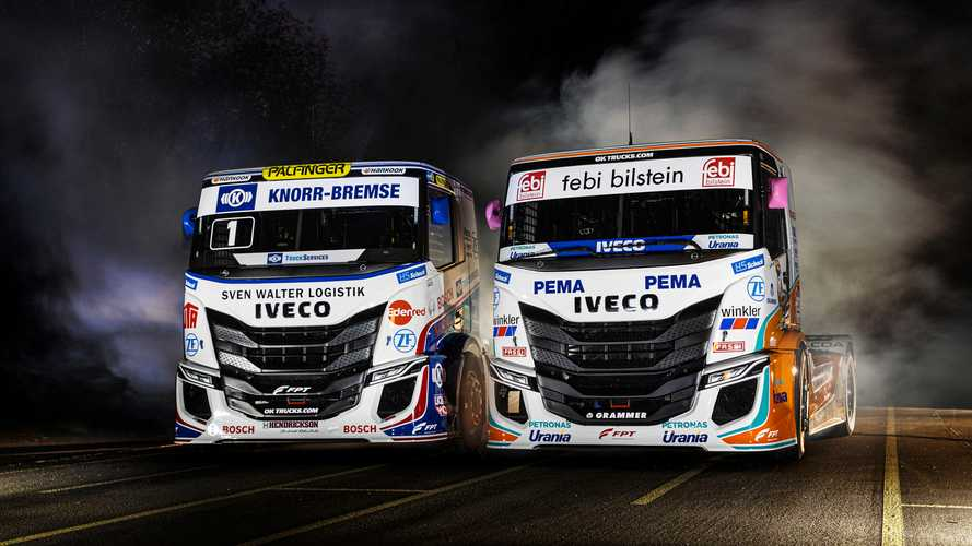 Iveco S-Way R Racing Truck, si accendono i motori in pista