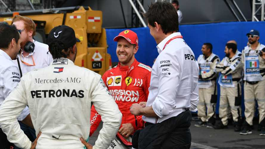 """F1, Wolff: """"Non escludo Vettel"""". Solo se Hamilton si ferma"""