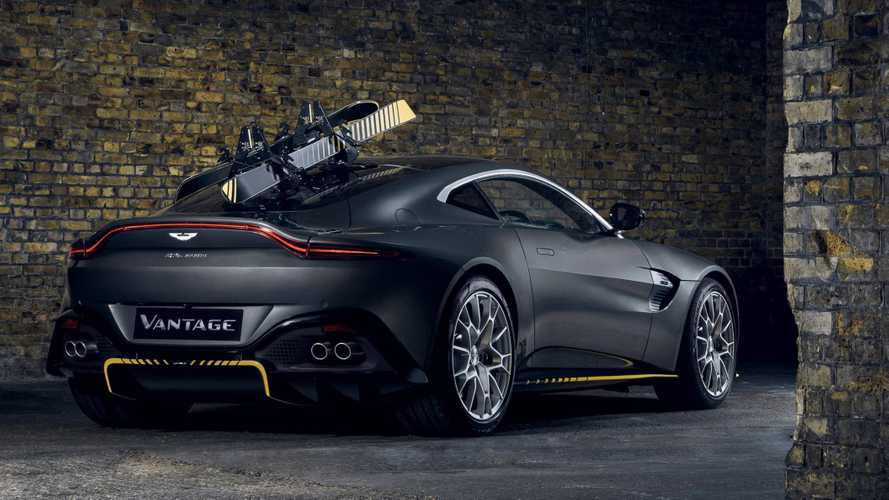 Aston Martin Vantage 007 Edition und DBS Superleggera 007 Edition