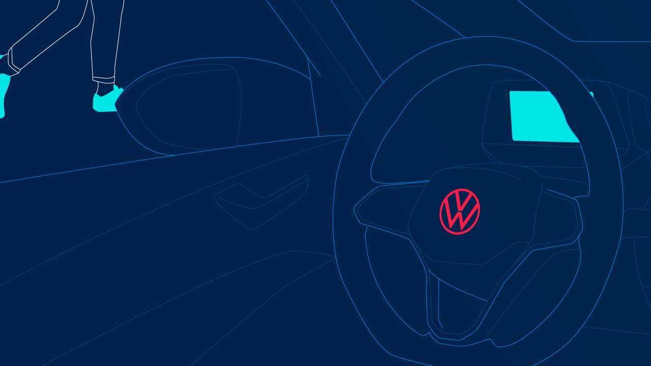 Volkswagen ID.4 driving