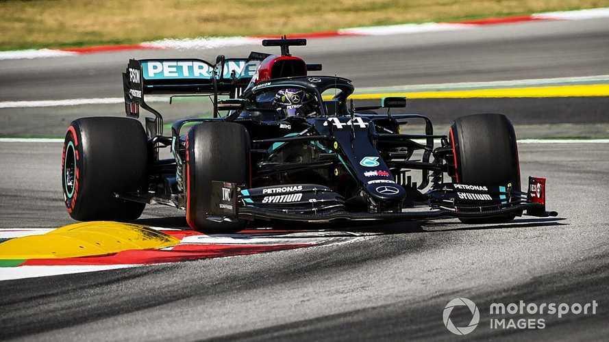 GP de España F1: pole de Hamilton por un suspiro y Sainz se recupera