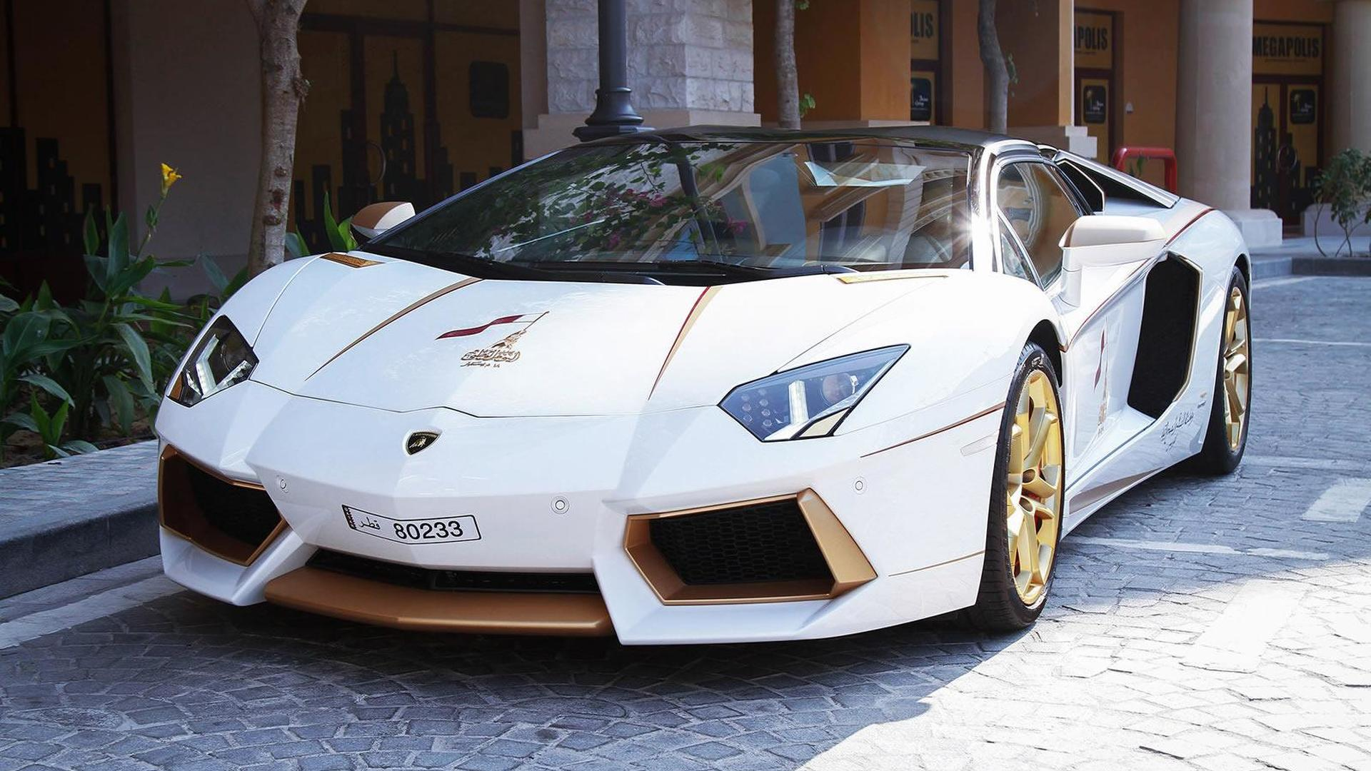 Lamborghini Aventador Gold >> Lamborghini Aventador Receives Subtle Gold Treatment From Maatouk