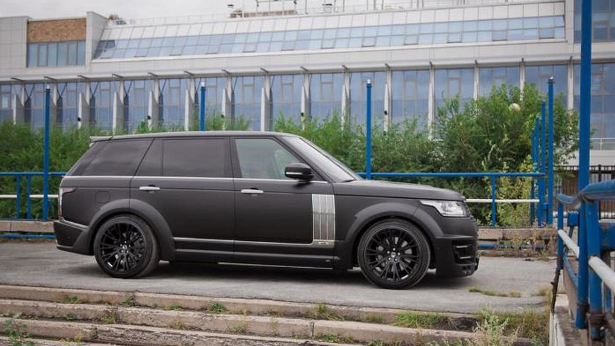 Range Rover long wheelbase gets a makeover from Lumma Design