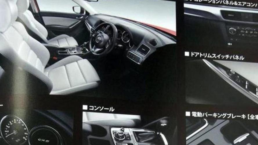 Mazda CX-5 facelift interior revealed via brochure pics