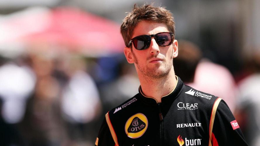 Lotus confirms Grosjean for 2015