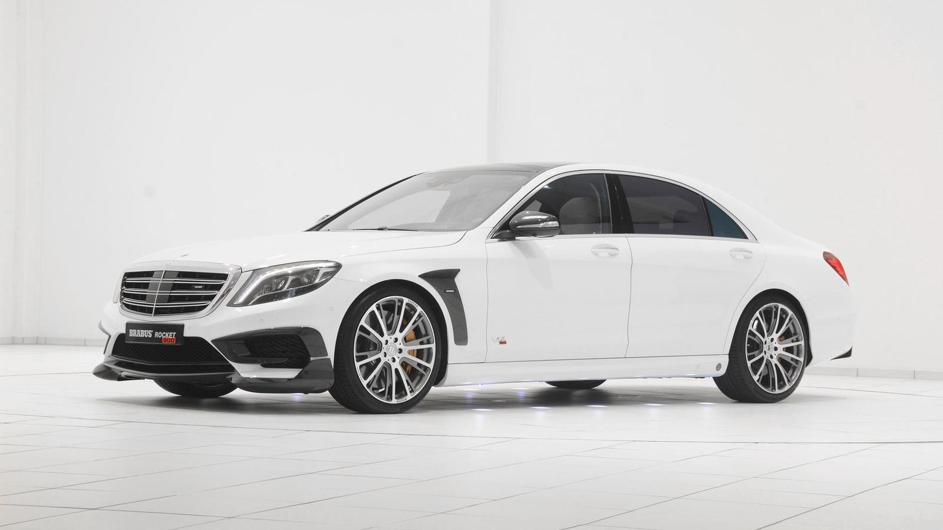 Brabus Rocket 900 Is A Heavily Tuned Mercedes Benz S65 Amg With 1 200 Nm Limited Torque