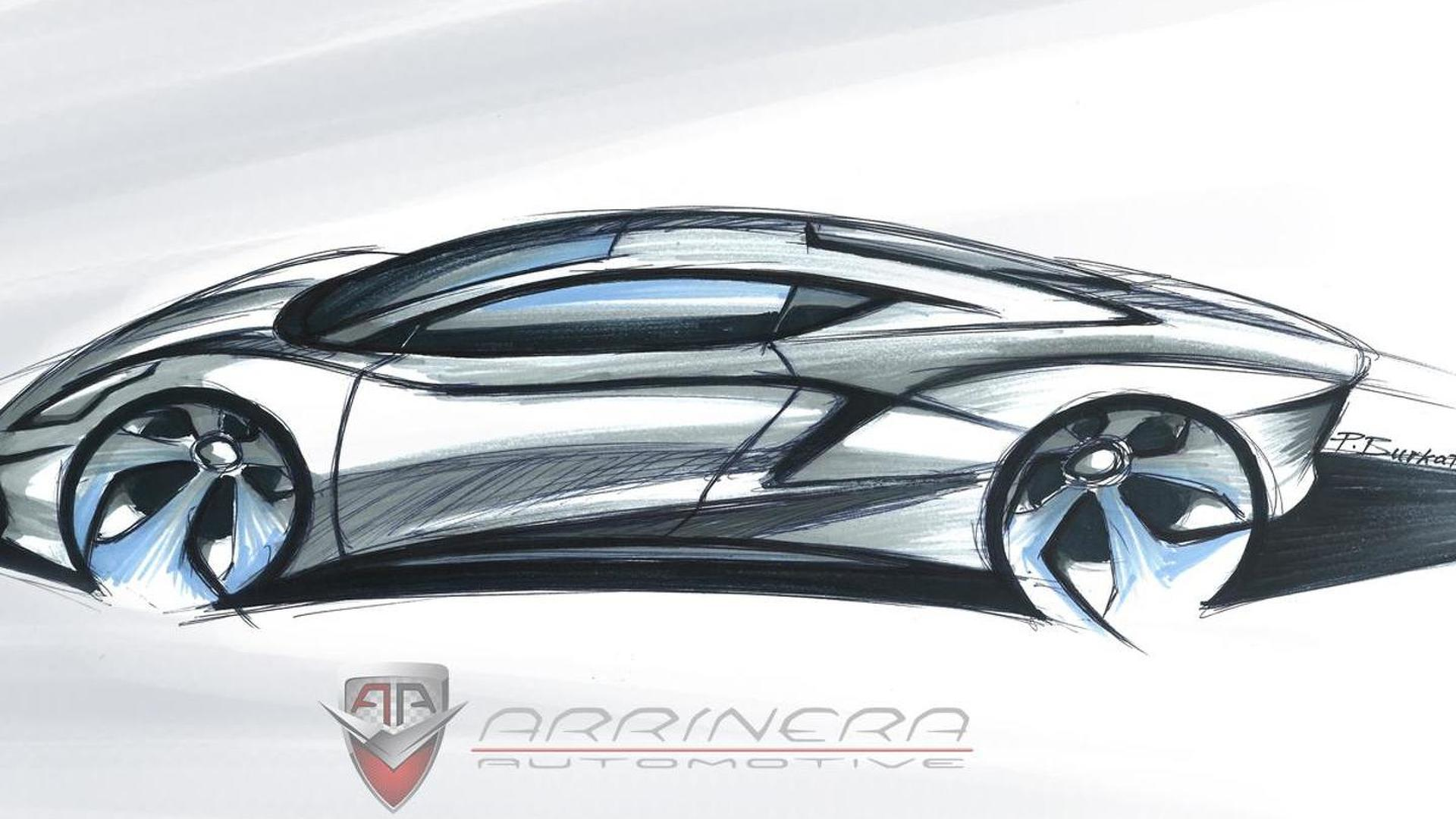Arrinera Automotive Releases Sketches Of Their Production Supercar