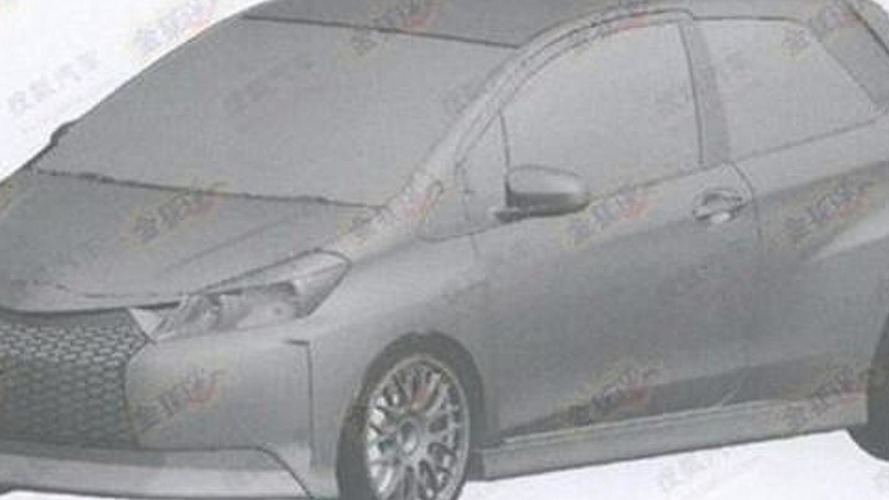 Toyota Yaris patent/trademark design drafts, 600, 25.07.2012