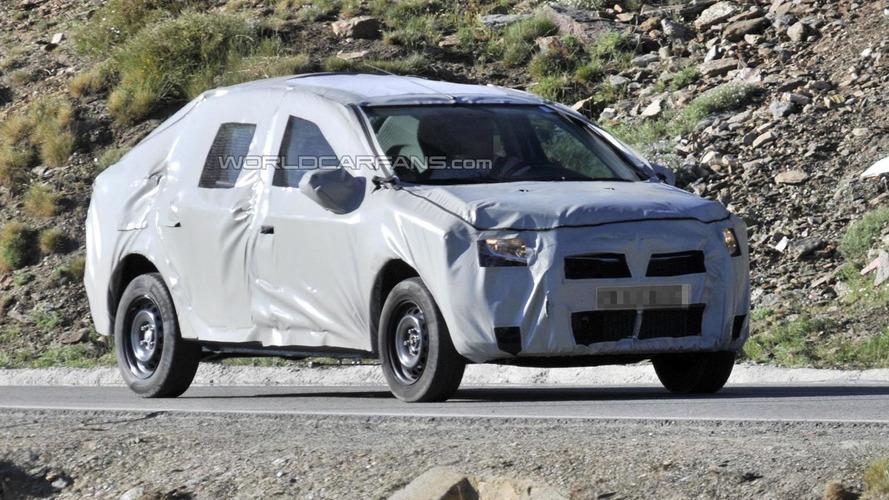 Next-generation Dacia Logan spied [video]