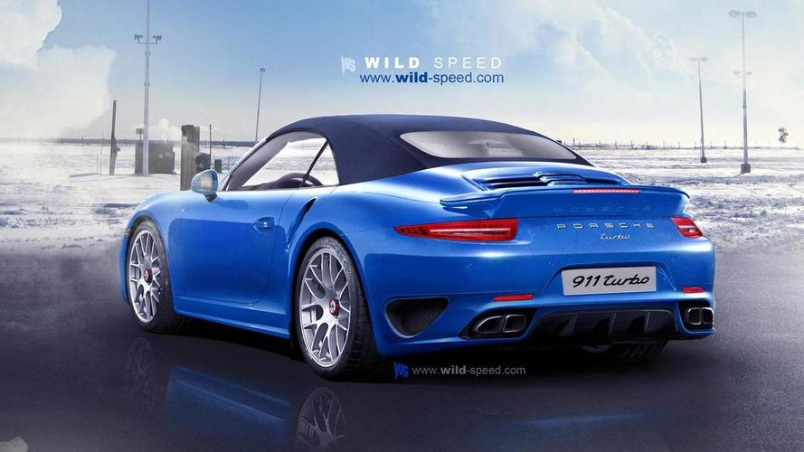 2013 Porsche 911 (991) Turbo Cabriolet rendered & speculated