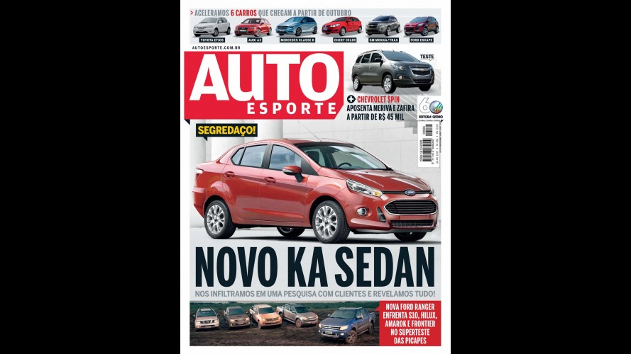 Novo Ford KA Sedan é confirmado por revistas