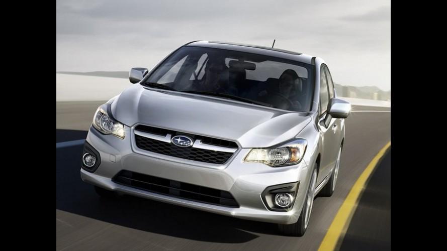 Novo Subaru Impreza 2012 é lançado no Chile