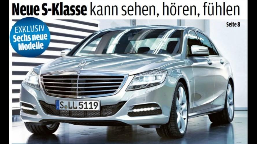 Mercedes-Benz planeja apresentar próxima geração do sedã Classe S na China