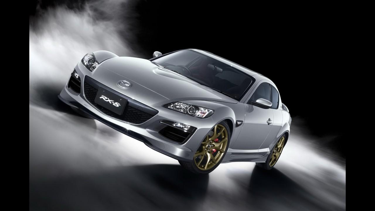 Mazda produzirá 1.000 unidades extras da edição de despedida do esportivo RX-8